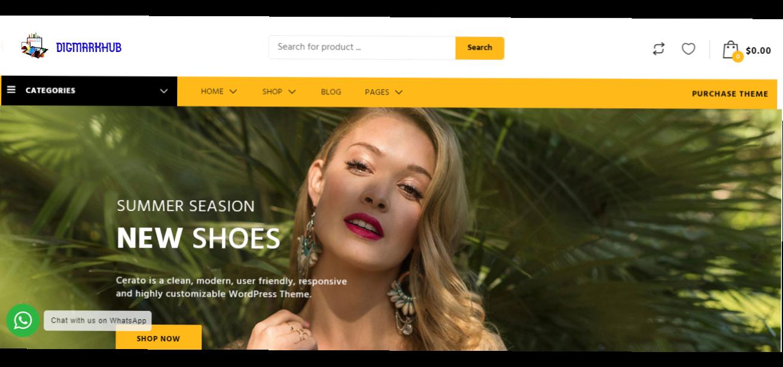 Business consultant website